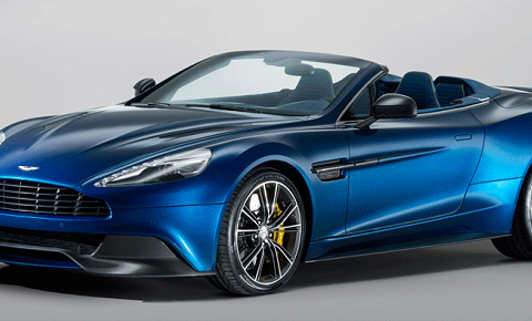 Most expensive cars: Aston Martin Vanquish Volante the most expensive homes most expensive cars featured image 480x290