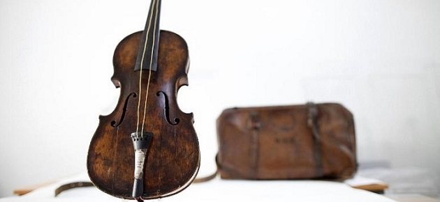 TITANIC VIOLIN SOLD FOR A WORLD RECord design limited edition unique pieces titanic violin sold for a world record2  Advertising design limited edition unique pieces titanic violin sold for a world record2