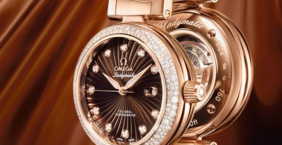 """The OMEGA Ladymatic is a mesmerizing blend of extraordinary design and truly innovative watchmaking. """