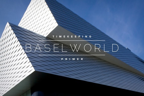 The Baselworld first day  Baselworld first day diary Baselworld Lead Full Gear Patrol 1