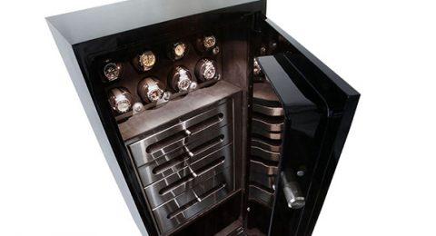 Luxury Watch Safe Brown safe Vicespy 480x260