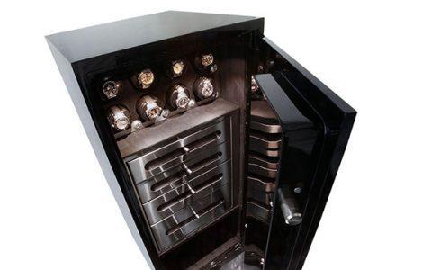 Luxury Watch Safe Brown safe Vicespy 480x300