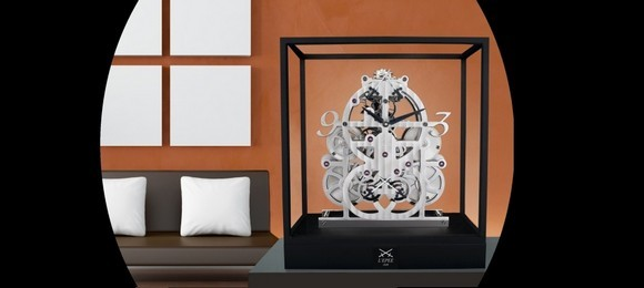 """Do you love Table clocks? Those classic machines we all have at home are L'Epée business. ""  Best Swiss Table clocks collec le duel 4  Home collec le duel 4"