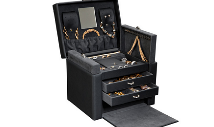 Exquisite Handcrafted Luxury Home Safes secret compartment safe jewelry box dottling 436x260