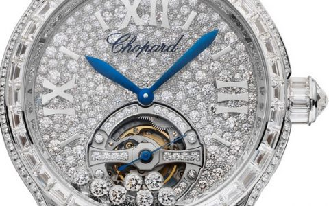 """This spring Chopard is focusing on graceful lightness with the new Happy Diamonds Buterflies collection. ""  CHOPARD'S AIRILY-LIGHT HAPPY DIAMONDS ENCHANT LUXURY LOVERS time news basel2014 chopard happy sport tourbillon joaillerie 2 480x300"
