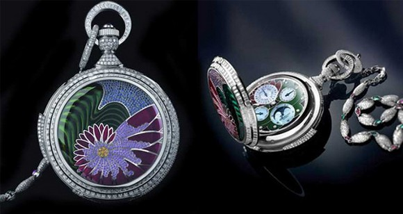 fabulous luxury pocket watch from watch manufacturer Parmigiani Fleurier  Parmigiani Fleurier Fibonacci Pocket Watch 2014050409520391152  About 2014050409520391152