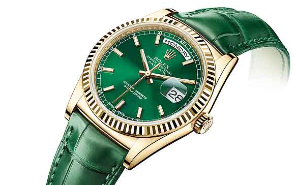 Luxury Watches, The Rolex day-date watch, gold cases, dial-strap combos, Everose gold, Baselworld, Basel Shows  TOP ARTICLES 2014: Luxury Watches – The Rolex day-date watch Luxury Watches The Rolex day date watch Baselworld Basel Shows