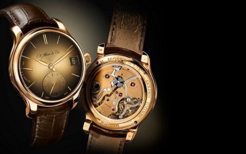 Swiss watch brand Moser  H. Moser & Cie Perpetual Golden Edition best watches moser perpetual golden edition 942 480x300