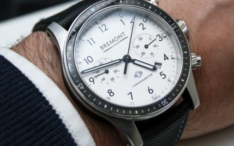 Bremont Boeing Model 247 Chronograph White  Top 10 Watches Of Baselworld 2014 Bremont Boeing Model 247 112 480x300