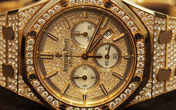 Luxury watches for women: Audemars Piguet new piece, diamonds are women best friends, luxury watch, Salon International de la Haute Horlogerie, luxurious piece, brilliant-cut diamonds, pink gold case, Watch brands, Basel Shows