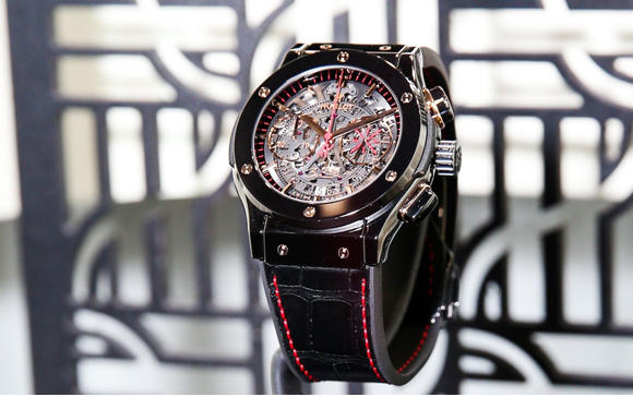 Luxury Watches, Hublot, new Dwyane Wade watch, Miami Heat, Classic Fusion Range, polished black ceramic, Dwyane Wade logo, Watch brands, Basel Shows  Luxury Watches: Hublot releases new Dwyane Wade watch Basel Shows Hublot Dwyane Wade