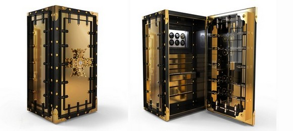 Luxury safes-Basel Shows  Luxury safes as contemporary art pieces luxury safe Knox Boca do Lobo Basel Shows1