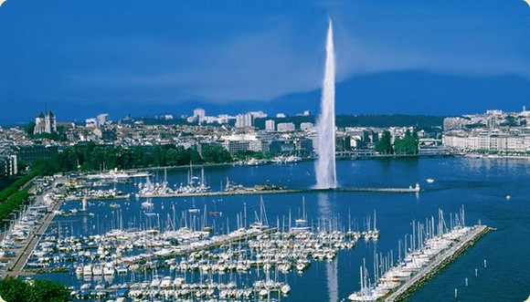 Located on the shores of Lake Léman, at the foot of the Alps, Geneva shines as one of the most beautiful cities in Europe.  City Guide: Tour around Geneva City Guide Geneva Basel Shows