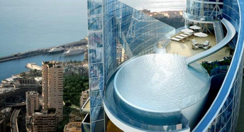 most expensive penthouse Extreme luxury: The most expensive penthouse in the world luxury home in Monaco Basel Shows 480x260