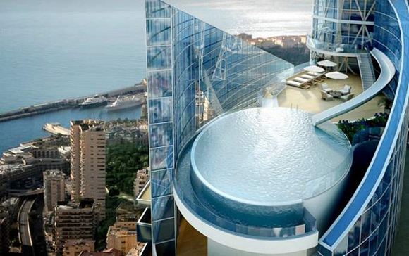 most expensive penthouse Extreme luxury: The most expensive penthouse in the world luxury home in Monaco Basel Shows