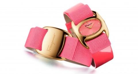 Varina, a new Salvatore Ferragamo Timepiece presented at Baselworld