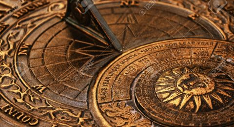 Surface-of-old-copper-sundial  The Chronology Through the Ages Surface of old copper sundial1 480x260