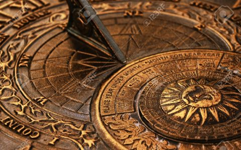 Surface-of-old-copper-sundial  The Chronology Through the Ages Surface of old copper sundial1 480x300