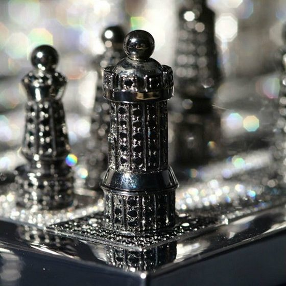 Most Expensive Chess Set With Diamonds  Most Expensive Chess Set With Diamonds Most Expensive Chess Set With Diamonds 5 560x560