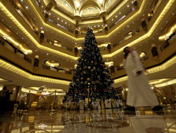 most expensive christmas tree Most Expensive Christmas Tree Decoreted with Precious Stones Most Expensive Christmas Tree Decoreted with Precious Stones 740x560
