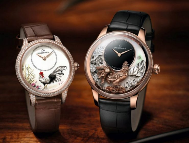 jaquet droz fire rooster collection Luxury Watches: Jaquet Droz Fire Rooster Collection Jaquet Droz Fire Rooster Collection 1 1 740x560