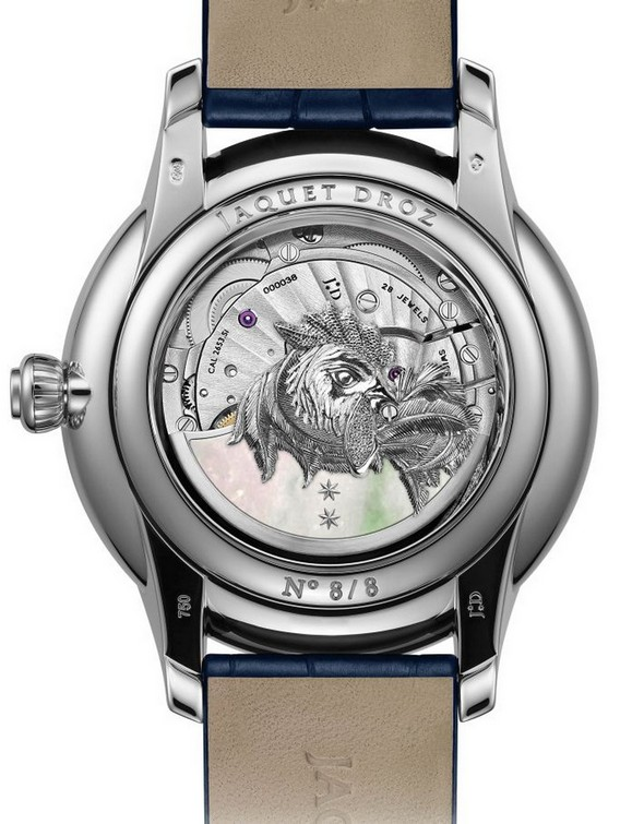 Luxury Watches: Jaquet Droz Fire Rooster Collection