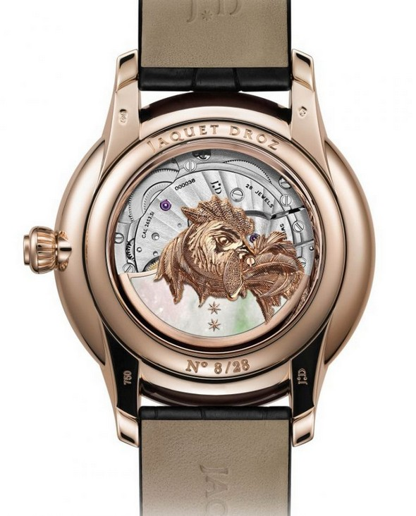 Luxury Watches: Jaquet Droz Fire Rooster Collection jaquet droz fire rooster collection Luxury Watches: Jaquet Droz Fire Rooster Collection Jaquet Droz Fire Rooster Collection 5 768x953