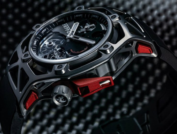 luxury watches Luxury Watches: the Hublot Techframe Ferrari Tourbillon Chronograph Luxury Watches the Hublot Techframe Ferrari Tourbillon Chronograph 3 C  pia 740x560