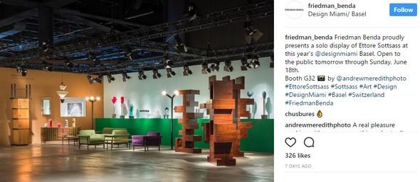 Design Miami/Basel Best Booths at Design Miami/Basel by Architectural Digest 1cf8b10b55b27bc71720690e111eb5dd