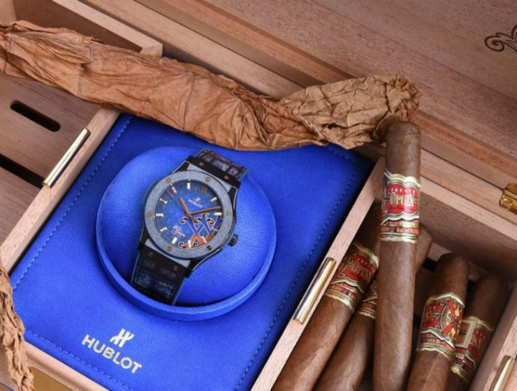 fuente cigars Fuente Cigars Celebrates 20 years with Hublot's Special Edition Fuente Cigars Celebrates 20 years with Hublots Special Edition 740x560