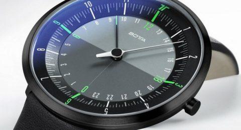 Luxury Watches: Botta Design Duo Wristwatch