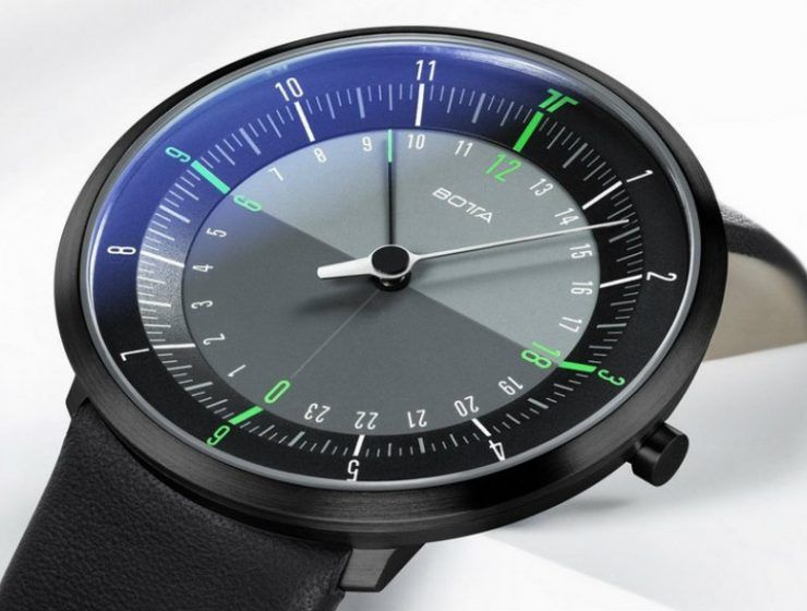 Botta Design Duo Wristwatch Luxury Watches: Botta Design Duo Wristwatch Luxury Watches Botta Design Duo Wristwatch 740x560