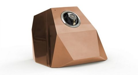watch winders Most Expensive: Magical Watch Winders by Vulcan Innova diamond copper3 480x260