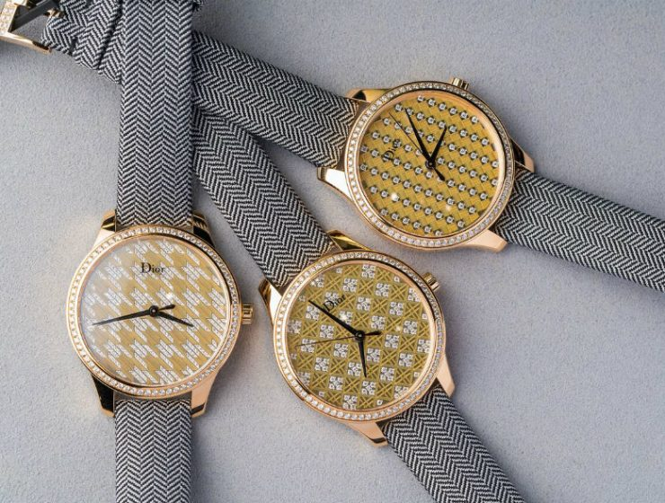 Luxury Watches Gorgeous Dior VIII Montaigne Tissage Precieux (1) limited edition watches Limited Edition Watches: Gorgeous Dior VIII Montaigne Tissage Precieux Luxury Watches Gorgeous Dior VIII Montaigne Tissage Precieux 4 1 740x560
