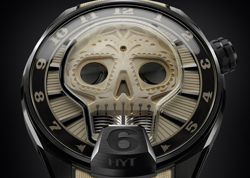 Luxury Watches The Dark Side of HYT Skull Vida Might