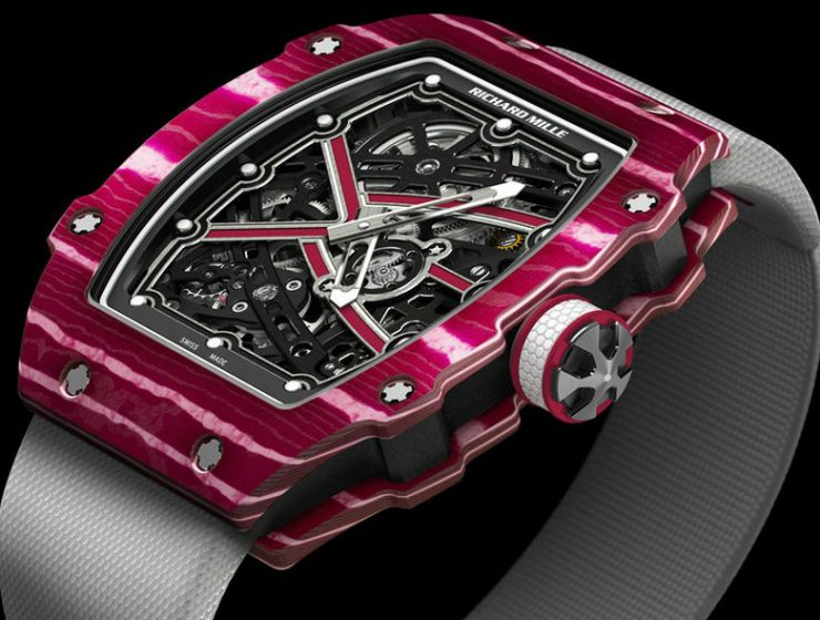 Sports Watches Richard Mille RM 67-02 Sprint and High Jump Watches Richard Mille RM 67 Sports Watches: Richard Mille RM 67-02 Sprint and High Jump Watches Sports Watches Richard Mille RM 67 02 Sprint and High Jump Watches 740x560