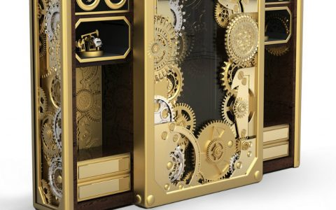 Home Safes Luxury Interior Design Ideas: Limited Edition Home Safes baron gold hd 480x300
