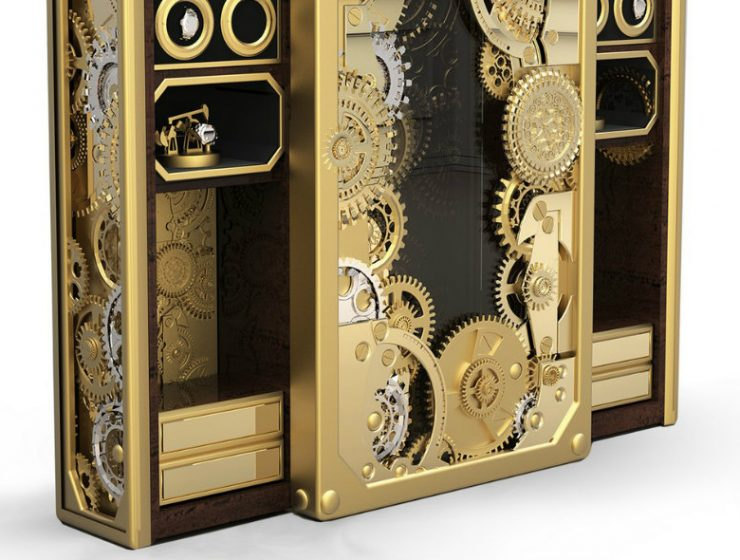 Home Safes Luxury Interior Design Ideas: Limited Edition Home Safes baron gold hd 740x560