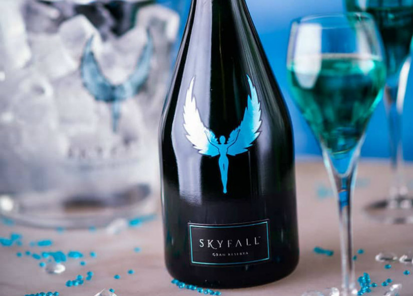 Most Expensive Wines Skyfall Gran Reserva Sparkling Wine
