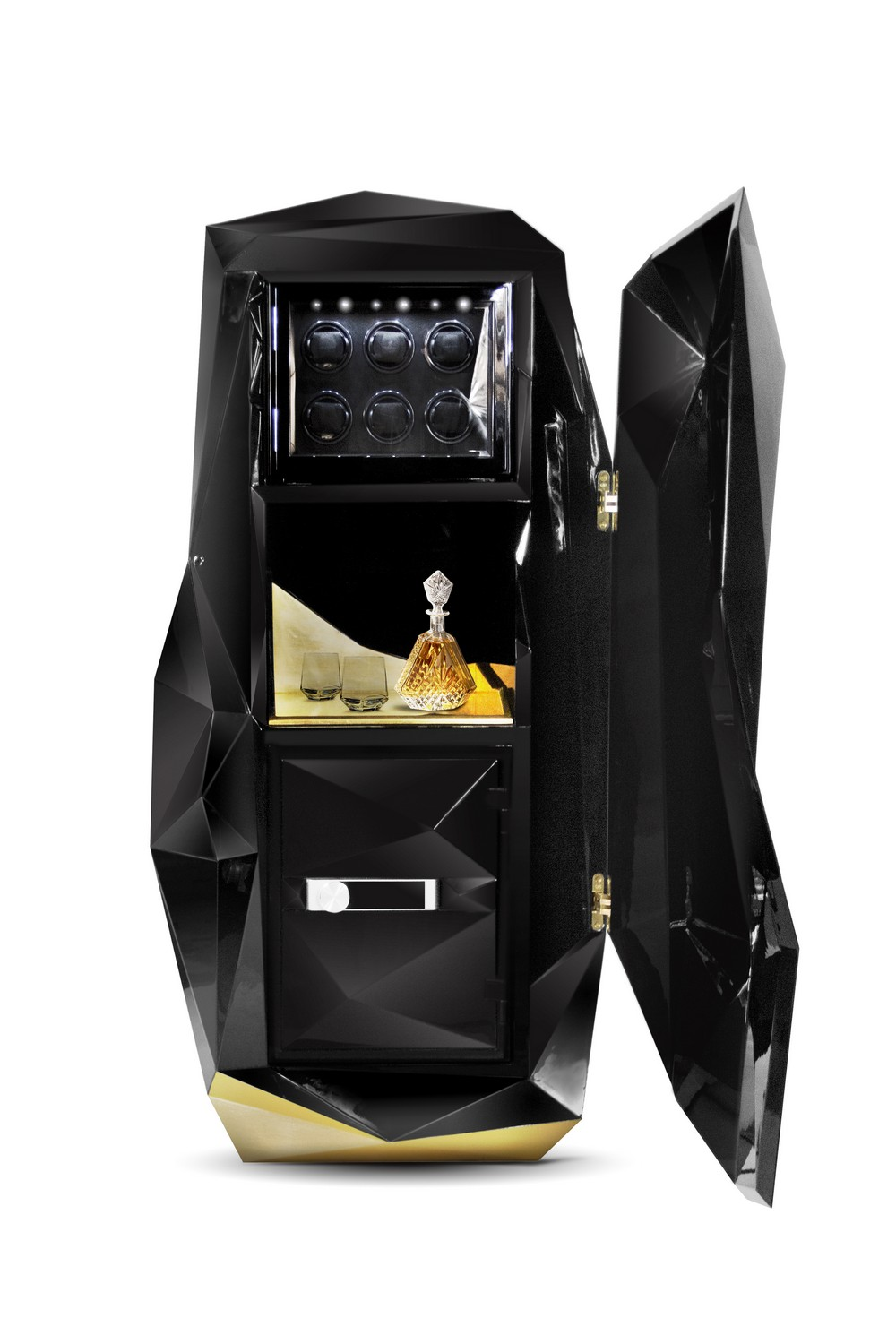 Most Expensive Wines Most Expensive Wines: Skyfall Gran Reserva Sparkling Wine diamond safe box HR 02 C  pia