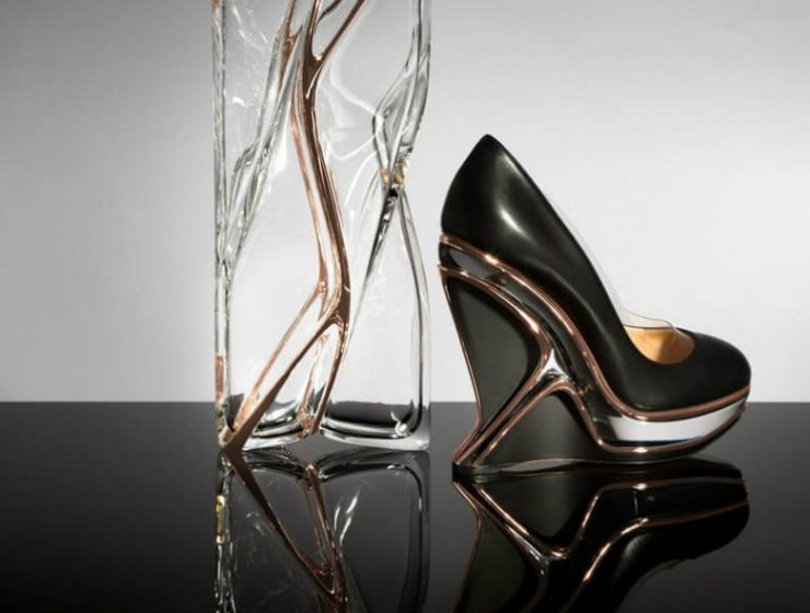 Zaha Hadid Design Charlotte Olympia join forces with Zaha Hadid Design Charlotte Olympia join forces with Zaha Hadid Design 740x560