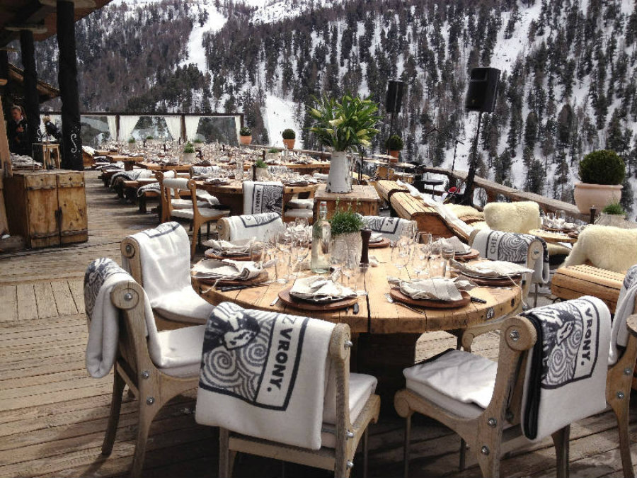 celebrities Top 5 places where celebrities hang out in Switzerland Chez Vrony