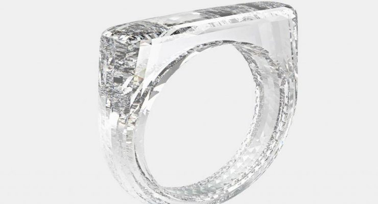 all-diamond ring Check out Jony Ive and Marc Newson's all-diamond ring DESTAQUE 740x400