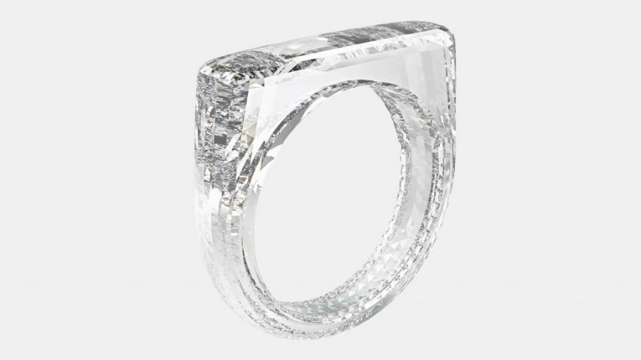 all-diamond ring Check out Jony Ive and Marc Newson's all-diamond ring IMG1