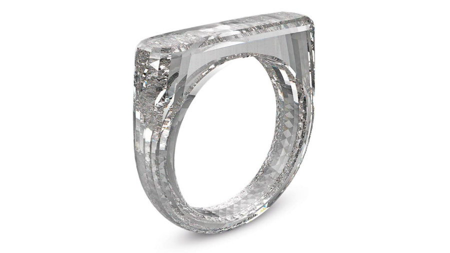 Check out Jony Ive and Marc Newson's all-diamond ring all-diamond ring Check out Jony Ive and Marc Newson's all-diamond ring IMG2