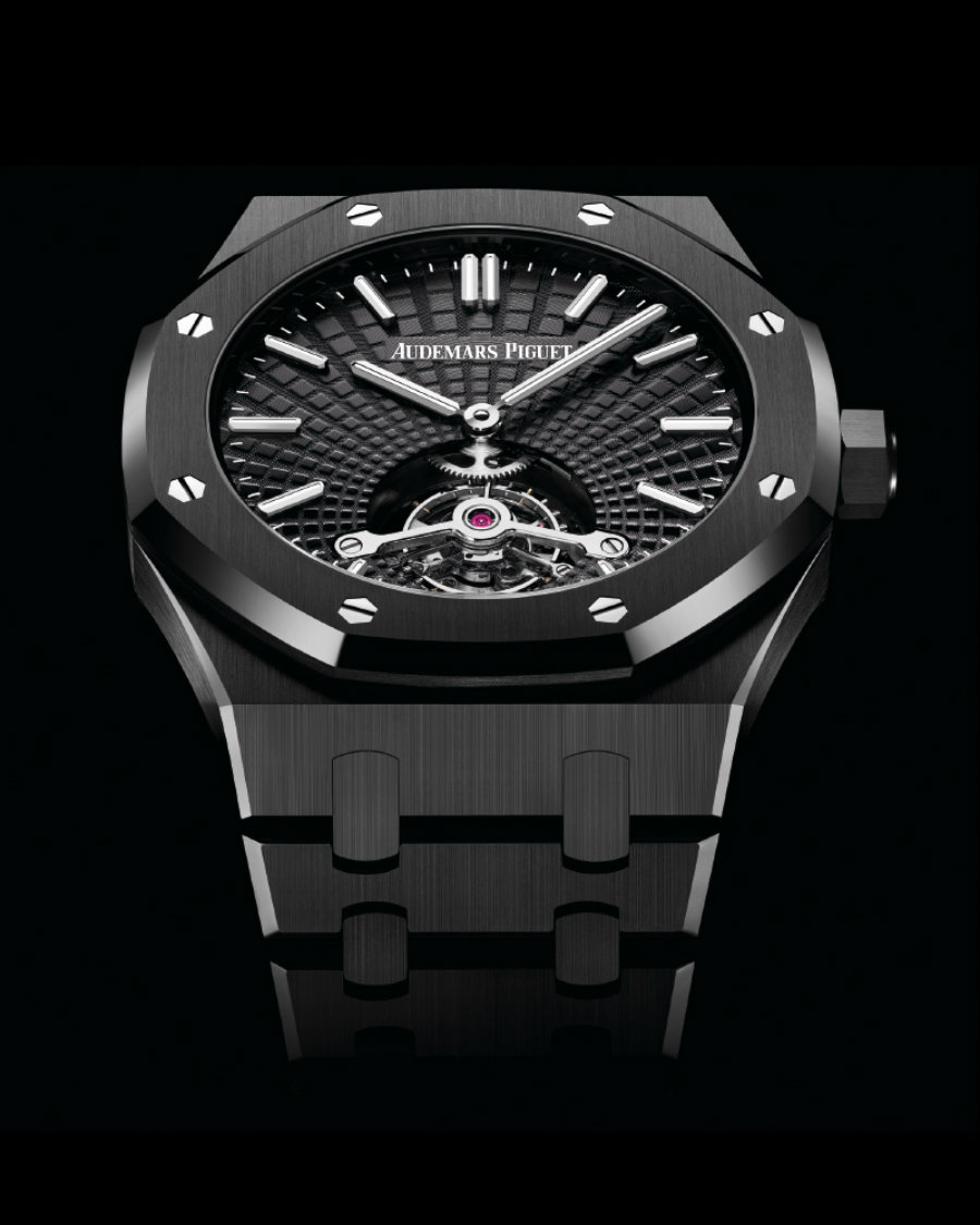 See of the 5 best luxury watches of SIHH 2019 sihh 2019 See of the 5 best luxury watches of SIHH 2019 Audemars Piguet Royal Oak Tourbillon Extra Thin Ceramic
