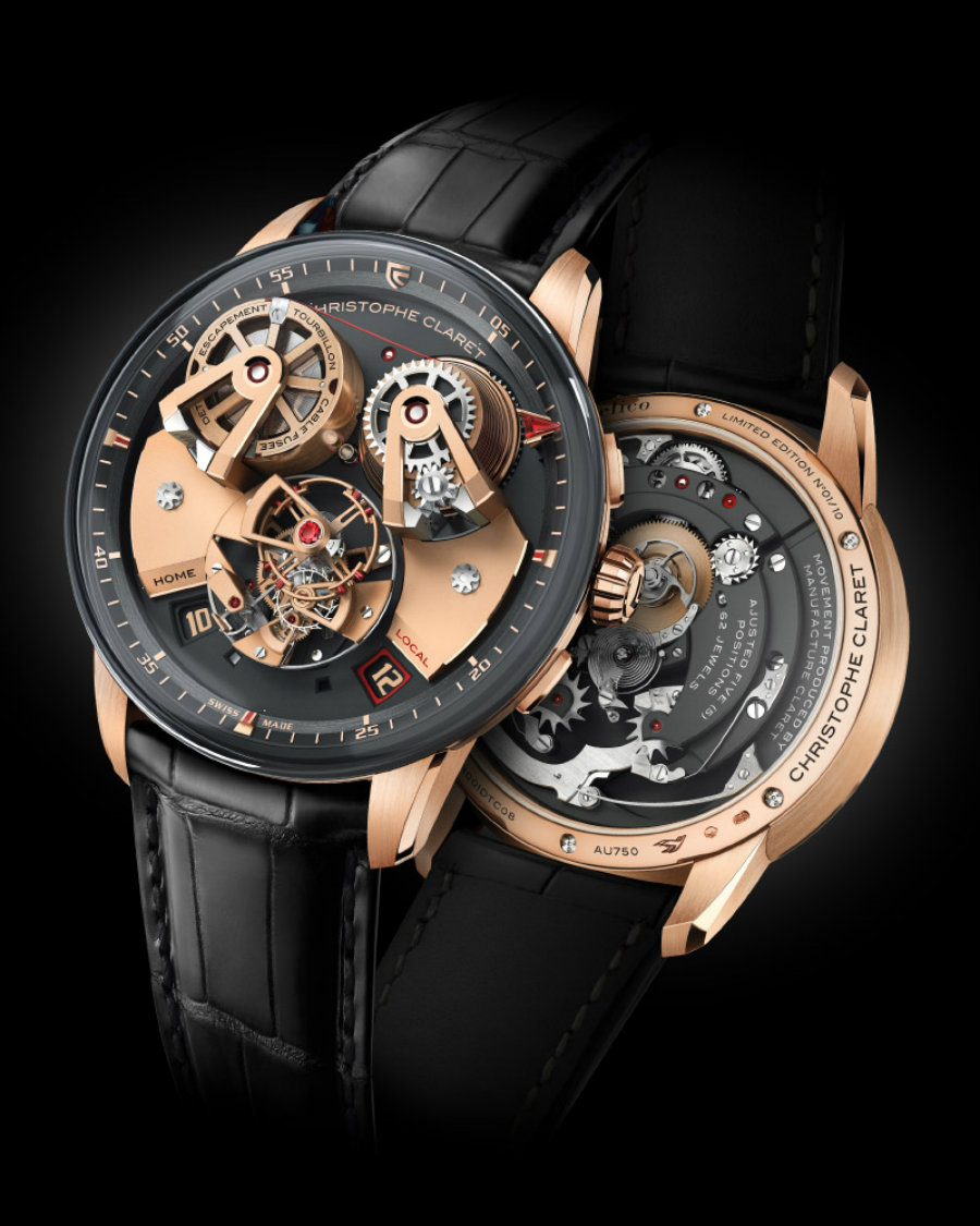 See of the 5 best luxury watches of SIHH 2019 sihh 2019 See of the 5 best luxury watches of SIHH 2019 Christophe Claret Angelico