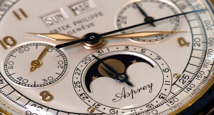 most expensive watch auctioned A look at Aspery: the Most Expensive Watch Auctioned in 2018 DESTAQUE 10 740x400