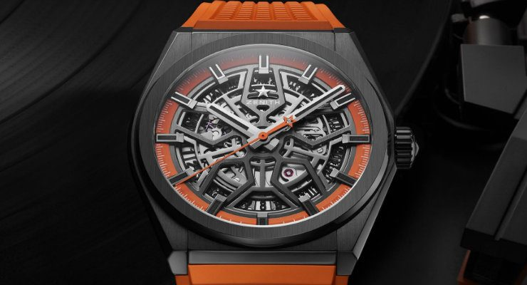 Zenith Defy Orange is the new black with new Zenith Defy Classic Swizz Beatz DESTAQUE 13 740x400
