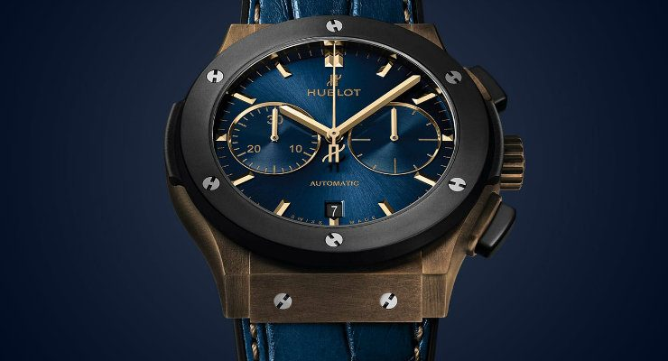 Hublot Classic Fusion A look at the Hublot Classic Fusion Bronze Bucherer Blue Edition DESTAQUE 14 740x400  Home DESTAQUE 14 740x400